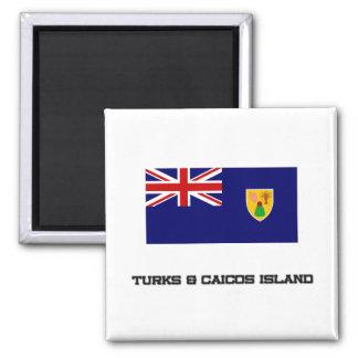 Turks & Caicos Island Flag Magnet