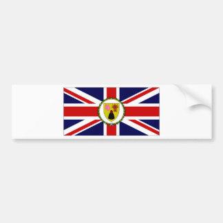 Turks Caicos Islands Governor Flag Bumper Sticker