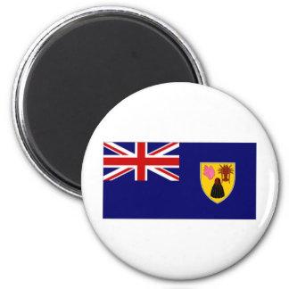Turks Caicos Islands National Flag Magnet