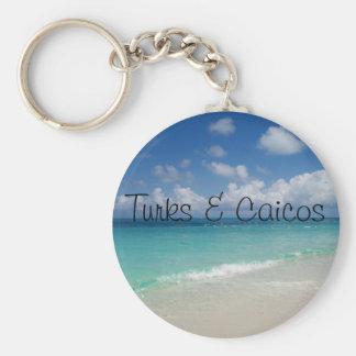 Turks & Caicos keychain