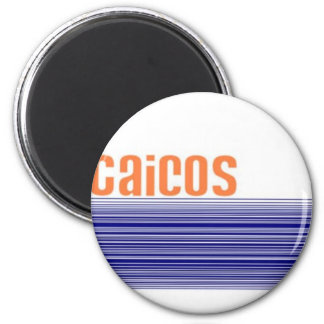 Turks & Caicos 2 Inch Round Magnet