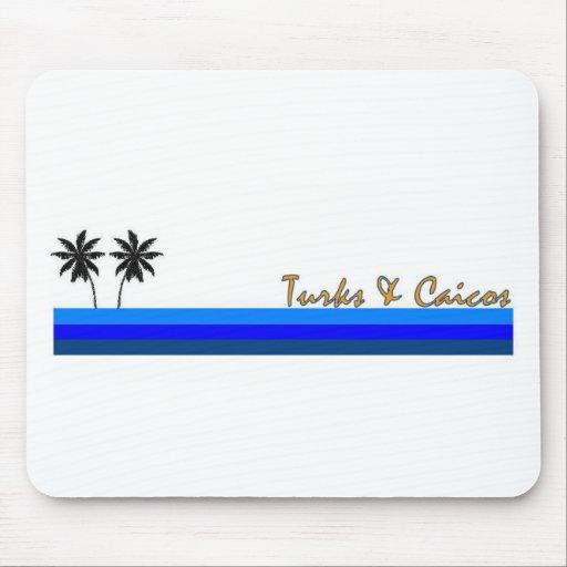 Turks & Caicos Mouse Pad