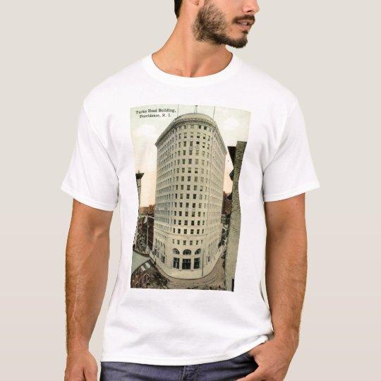 Turks Head Building Providence RI 1915 Vintage T-Shirt