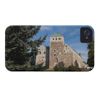 Turku, Finland, ancient Turun Linna Castle, a Blackberry Bold Cases