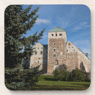Turku, Finland, ancient Turun Linna Castle, a Coaster