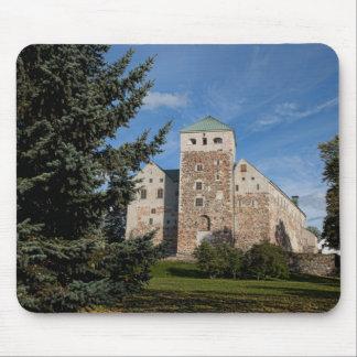 Turku, Finland, ancient Turun Linna Castle, a Mouse Pad