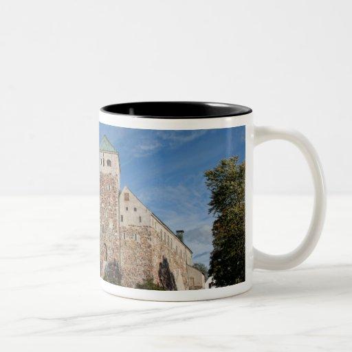 Turku, Finland, ancient Turun Linna Castle, a Two-Tone Coffee Mug