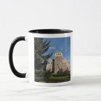 Turku, Finland, ancient Turun Linna Castle, a Mug