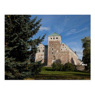Turku, Finland, ancient Turun Linna Castle, a Postcard