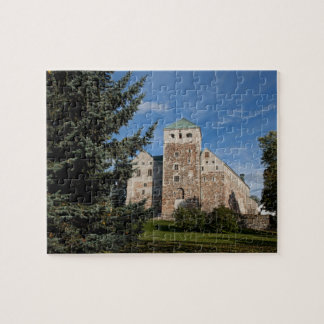 Turku, Finland, ancient Turun Linna Castle, a Puzzles