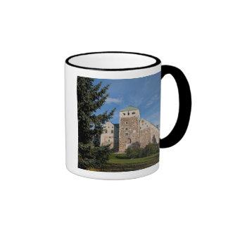 Turku, Finland, ancient Turun Linna Castle, a Ringer Coffee Mug