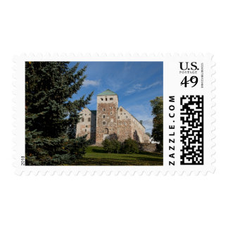 Turku, Finland, ancient Turun Linna Castle, a Stamps