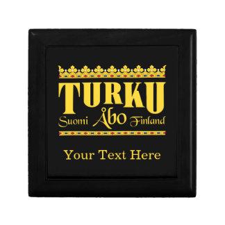 Turku Finland gift box