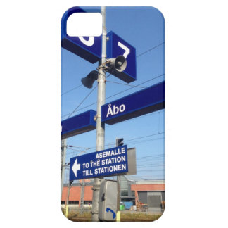 Turku Station in Finland iPhone 5 Cases
