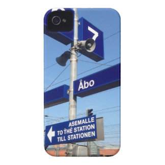 Turku Station in Finland Case-Mate iPhone 4 Cases