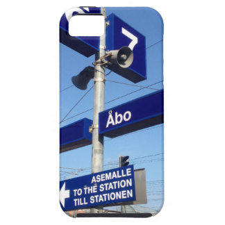 Turku Station in Finland iPhone 5 Cover