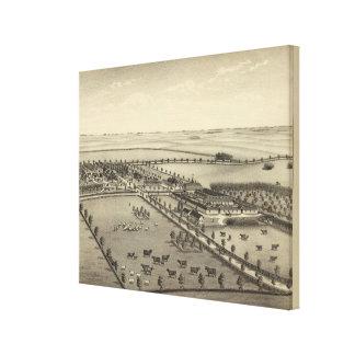 Turlington Farms, Nebraska Canvas Print
