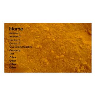 Turmeric Business Card