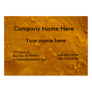 Turmeric Large Business Card