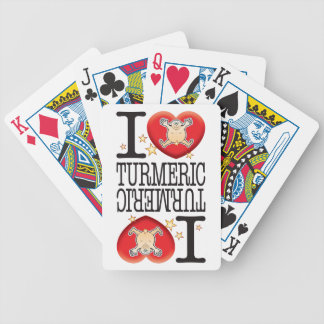 Turmeric Love Man Bicycle Playing Cards