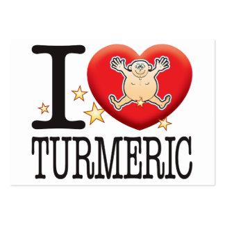 Turmeric Love Man Large Business Card