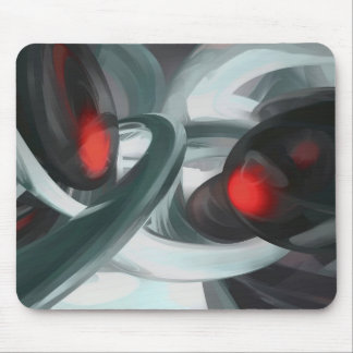 Turmoil Pastel Abstract Mouse Pad