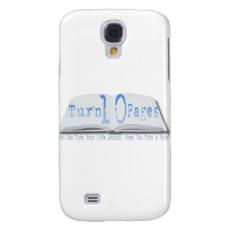 Turn 10 Pages Galaxy S4 Cover