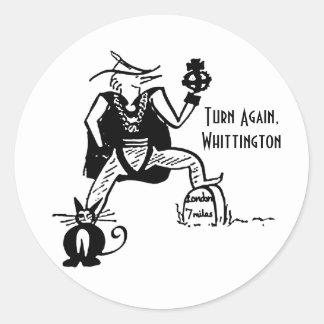 Turn Again, Whittington Sticker