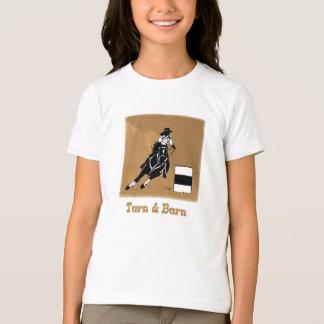 Turn and Burn Barrel Racer T-Shirt