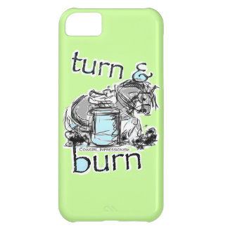 Turn and Burn Barrel Racing iPhone 5C Cover