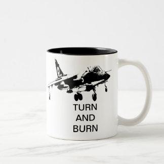 TURN AND BURN COFFEE MUGS