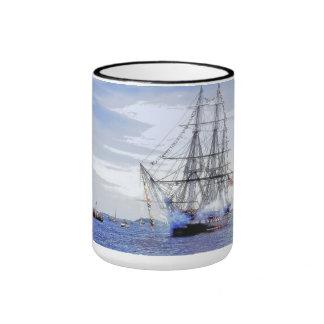 Turn-around Cruise:  USS Constitution Ringer Mug