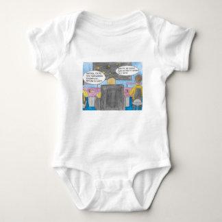 Turn Around Mission Baby Bodysuit