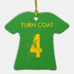 Turn Coat Christmas Ornament
