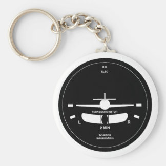 Turn Coordinator Key Chains