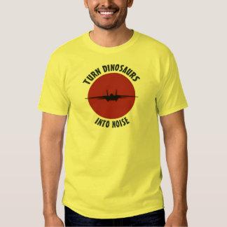 Turn Dinosaurs into noise! Shirt
