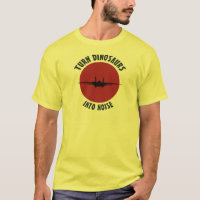 Turn Dinosaurs into noise! T-Shirt