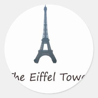 turn eifel classic round sticker