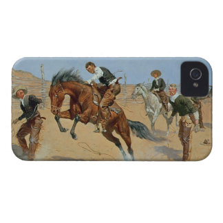Turn Him Loose, Bill, c.1893 (oil on canvas) iPhone 4 Cover