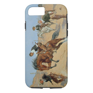 Turn Him Loose, Bill, c.1893 (oil on canvas) iPhone 7 Case