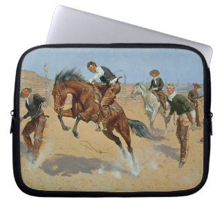 Turn Him Loose, Bill, c.1893 (oil on canvas) Laptop Sleeve