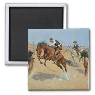 Turn Him Loose, Bill, c.1893 (oil on canvas) Magnet