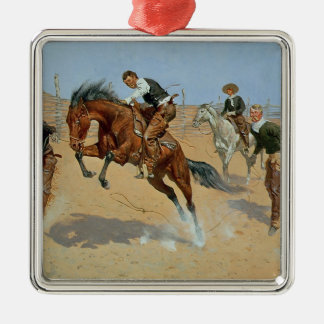 Turn Him Loose, Bill, c.1893 (oil on canvas) Metal Ornament
