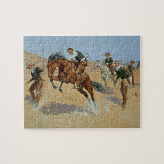 Turn Him Loose, Bill, c.1893 (oil on canvas) Puzzle