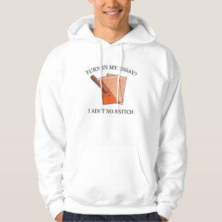 Turn In My Essay? Hooded Sweatshirt