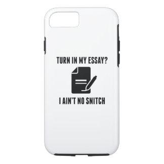 Turn In My Essay? iPhone 8/7 Case