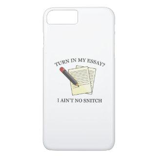 Turn In My Essay? iPhone 8 Plus/7 Plus Case