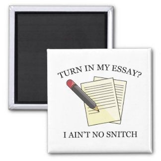 Turn In My Essay? Magnet