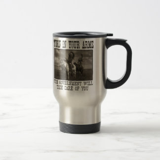 Turn In Your Arms 15 Oz Stainless Steel Travel Mug