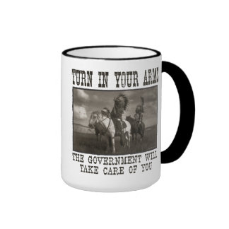 Turn In Your Arms Ringer Coffee Mug